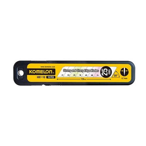 [882265] 커터칼날 HB7-10(10p/25mm/코메론)