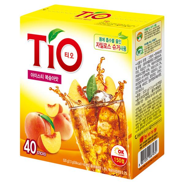 TIO(티오) 아이스티 복숭아(13g*40T/동서식품)