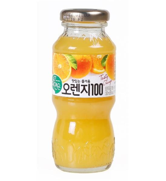 [888812]자연은 오렌지(180ml*12병/웅진)