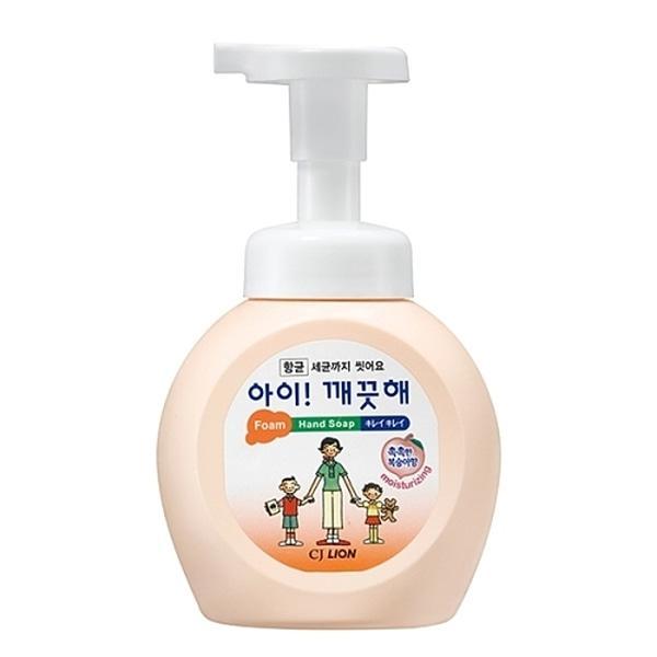 [879776]아이깨끗해 핸드워시 용기(모이스처복숭아/250ml/라이온코리아)
