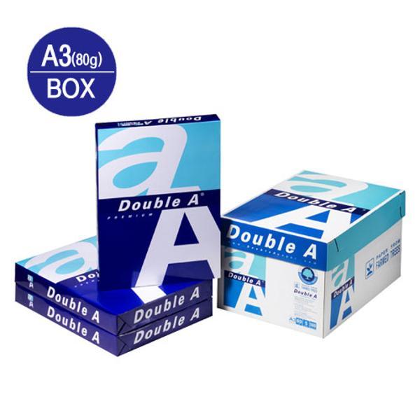 복사용지A3(80g/더블에이/500매*5권/박스)