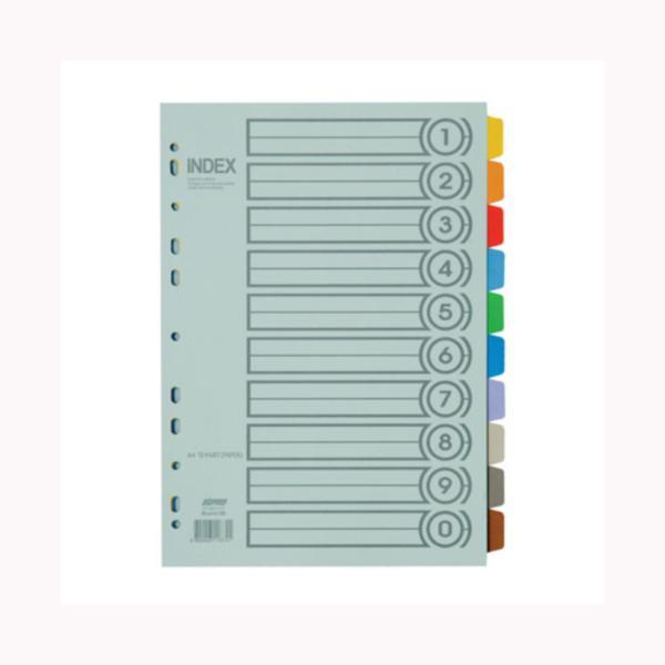 [409080]바인더인덱스(I310/종이/10분류/5SET/대흥사)