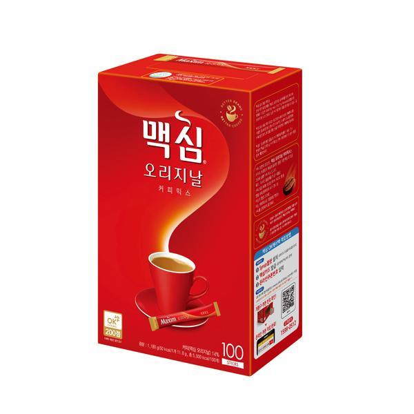 [812470]맥심 오리지날 커피믹스(11.8g*100T/동서식품)