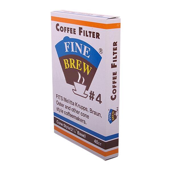 [813040]커피여과지(5~7인용/40매/#4/토마스앤그린)