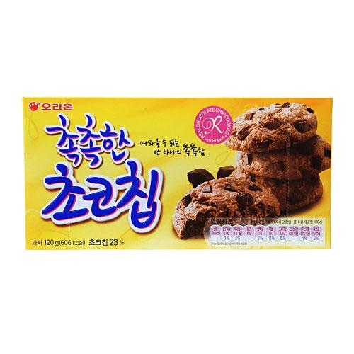 [897607]촉촉한 초코칩(120g/6입/오리온)
