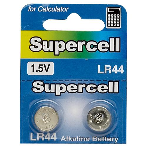 [800140]수은전지(LR44/LR1154/알카라인/2입/supercell)