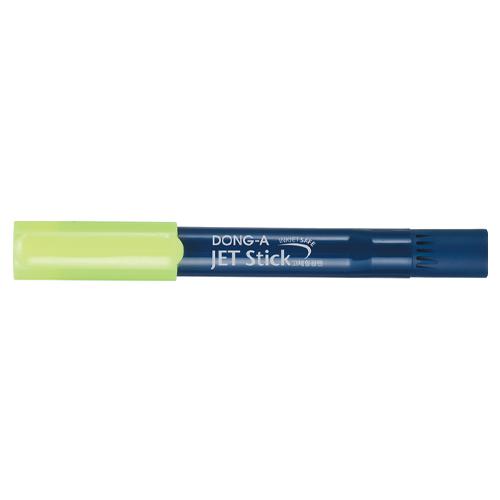 [502391]사무용 고체형광펜 제트스틱(노랑/1자루/동아연필)